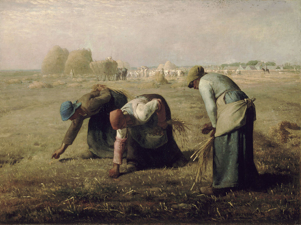 The Gleaners painting by Jean-François Millet